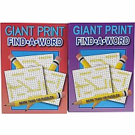 Puzzle Book,384Pg Giant Print