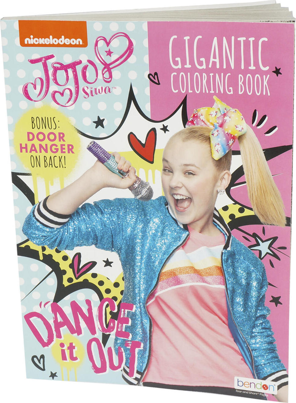 Jojo Siwa Gigantic Coloring Book - The Learning Post Toys