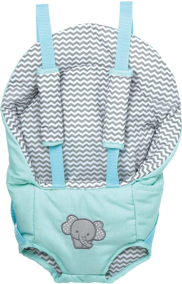 Adora Zig Zag Elephant Play Date Diaper Bag and Accessories NEW
