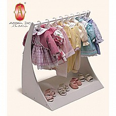 Doll Outfit Rack