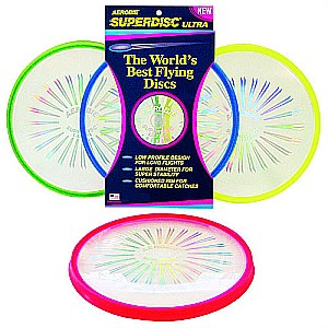 Superdisc Ultra Flying Disc Asst. color
