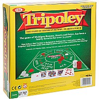 Ideal Tripoley Deluxe Mat Edition Card Game