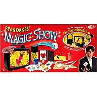 Ideal Ryan Oakes 101-Trick Magic Show with Magic Lunch Box Set and Instructional DVD
