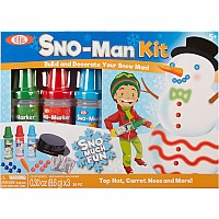 Ideal Sno Toys Sno Marker Sno-Man Kit