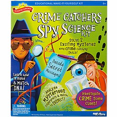 Scientific Explorer Crime Catchers Spy Science Kit
