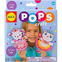 ALEX Toys POPS Craft 2 Tutu Dolls
