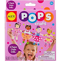 ALEX Toys POPS Craft 4 Paper Chain Dolls