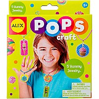 ALEX Toys POPS Craft 5 Yummy Jewelry