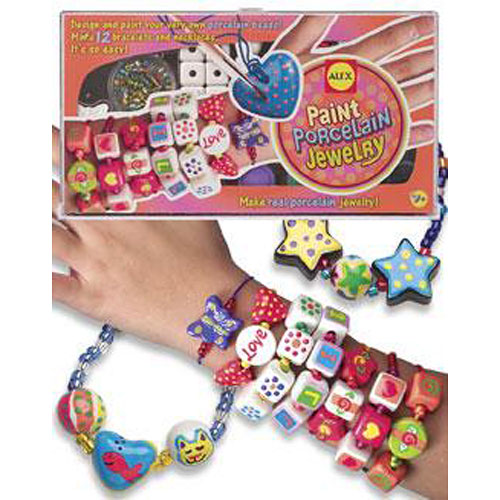 Paint porcelain jewelry toy sense for Alex paint porcelain jewelry
