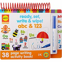 ALEX Discover Ready, Set, Write and Wipe! ABC and 123