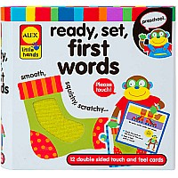 ALEX Toys Little Hands Ready, Set, First Words