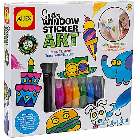 ALEX Toys Craft Super Window Sticker Art