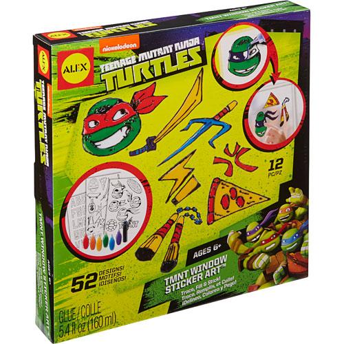 Teenage Mutant Ninja Turtles Window Sticker Art - Kremer's