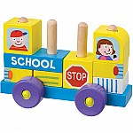 Block Roll School Bus