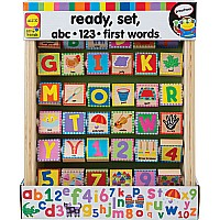 Abc/ 123 First Words