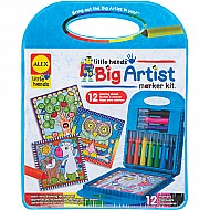 ALEX Toys Little Hands BIG Artist Series Marker Kit