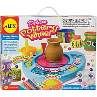 Deluxe Pottery Wheel (With AC Adapter Foot Control Pedal)
