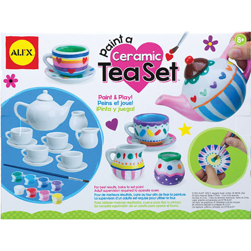 Alex Toys Craft Paint A Ceramic Tea Set Kremer S Toy And Hobby