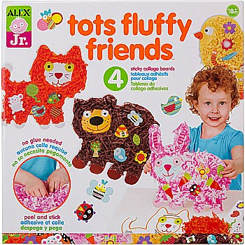 Tots Fluffy Friends Paper Animal Activity