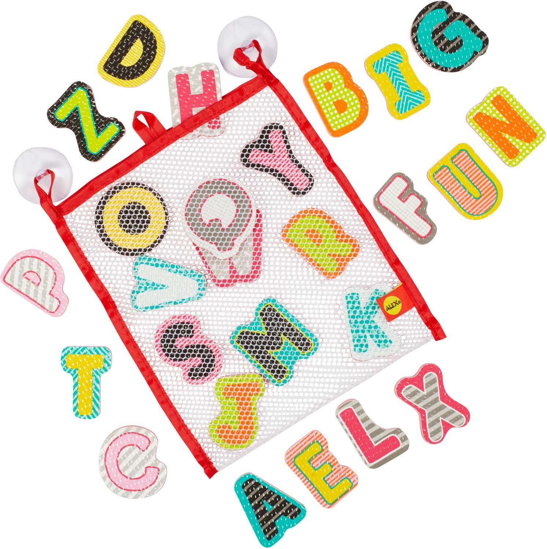 ALEX Bath ABC Stickers in the Tub - Toodleydoo Toys