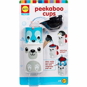 ALEX Bath Peekaboo Cups