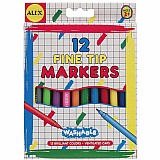 Washable Fine TIP Markers (12)