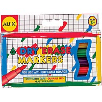 Dry Erase Markers (6)