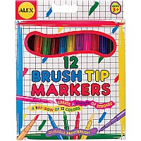 Brush TIP Markers (12)