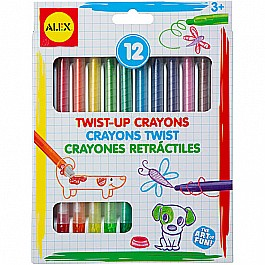 ALEX Toys Artist Studio 12 Twist Up Crayons
