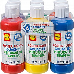 ALEX Toys Artist Studio 6 Poster Paints