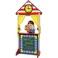 Floor Standing Puppet Theatre with Clock