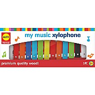 ALEX Toys Pretend My Music Xylophone
