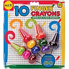 Finger Crayons 10 Pc