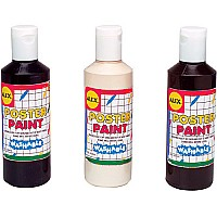 Alex Poster Paint Set (3) 8 Oz. Each 280