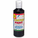 Washable Poster Paint 8 Oz. Black