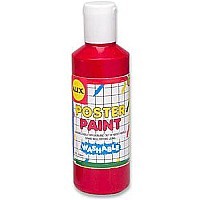 Washable Poster Paint 8oz. Red