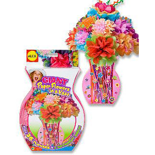 Giant Paper Flowers In A Vase Fun Stuff Toys