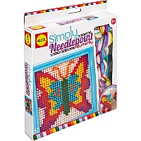 ALEX Toys Craft Simply Needlepoint-Butterfly