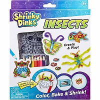 Shrinky Dinks Insects