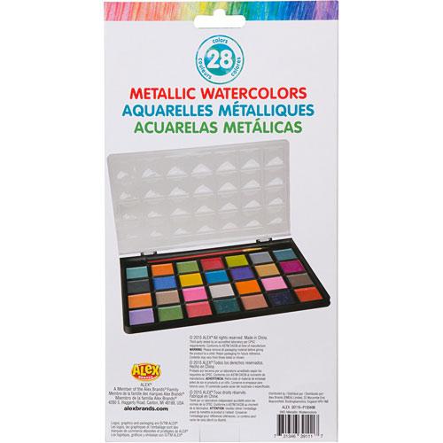 ALEX Toys Artist Studio 28 Metallic Watercolors