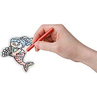 Shrinky Dinks-mermaid