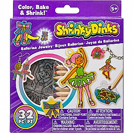 CLEARANCE Shrinky Dinks Ballerina Jewelry