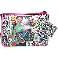 ALEX Toys Craft Color A Groovy Messenger Bag