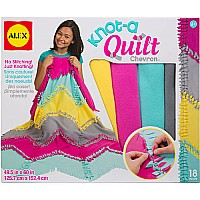 ALEX Toys Craft Knot A Quilt Chevron