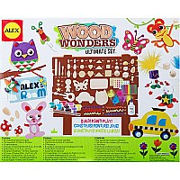 ALEX Toys Craft Wood Wonders Ultimate Set