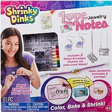 Shrinky Dinks Love Notes Jewelry
