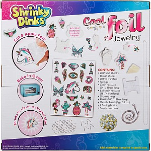 Shrinky Dinks Cool Foil Jewelry