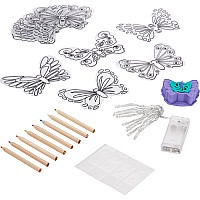 Shrinky Dinks 3D Butterfly Lights