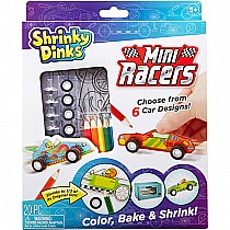 Shrinky Dinks Mini Racers Activity Set