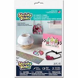 Shrinky Dinks DIY Hearts and Things Project Pack